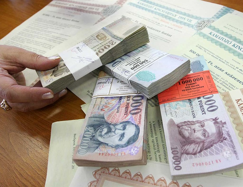 Tovább csökkentek a hosszú állampapírhozamok