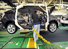Enyhén nőttek az ipari termelői árak