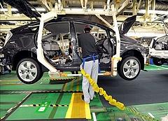 Csökkent Japán ipari termelése júliusban