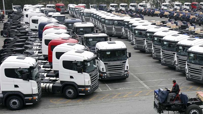 Ritka hatékony sztrájkot tartottak a brazil kamionsofőrök