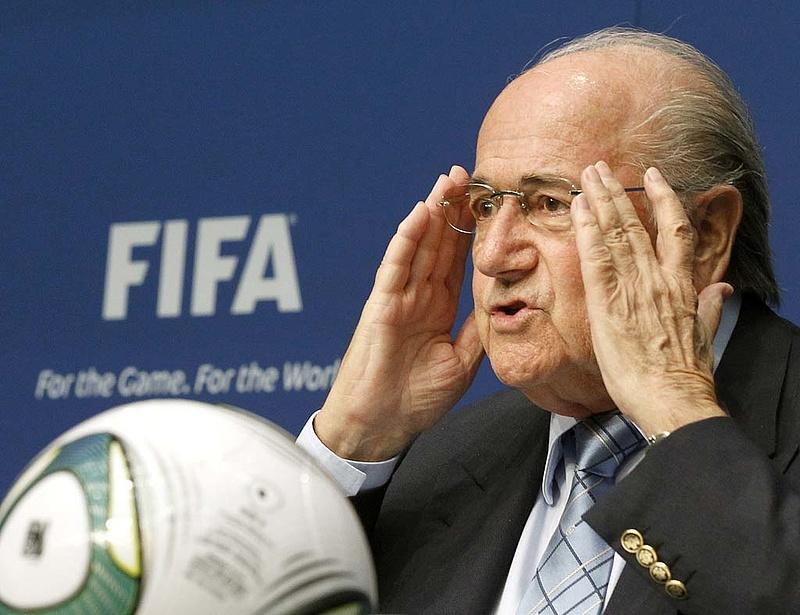 Újra Blatter a FIFA elnöke