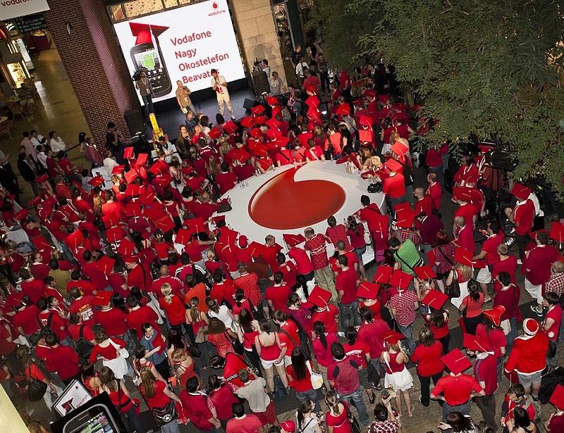 Csökkent a Vodafone árbevétele