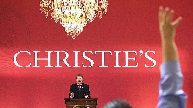Növelte bevételeit a Christie's aukciós ház