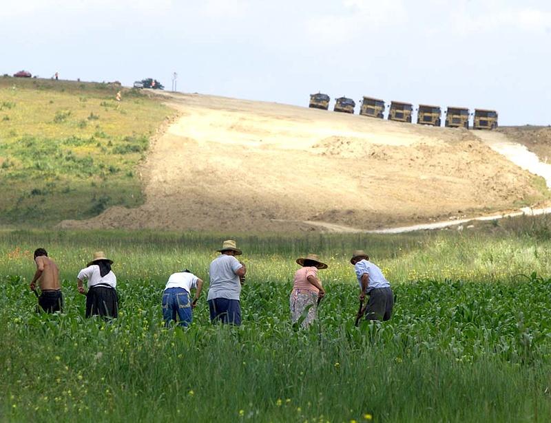 Befuccsolt az észak-erdélyi autópálya-építés