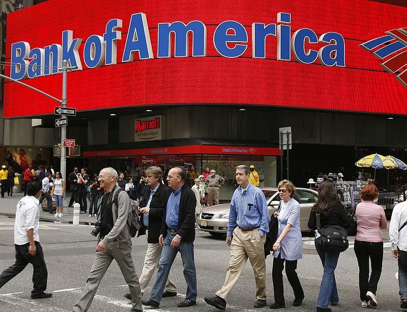 A gazdaság gyengélkedése ellenére többszörözték a nyereségüket az amerikai bankok