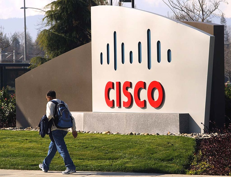Zuhant a Cisco a negyedéves jelentésre