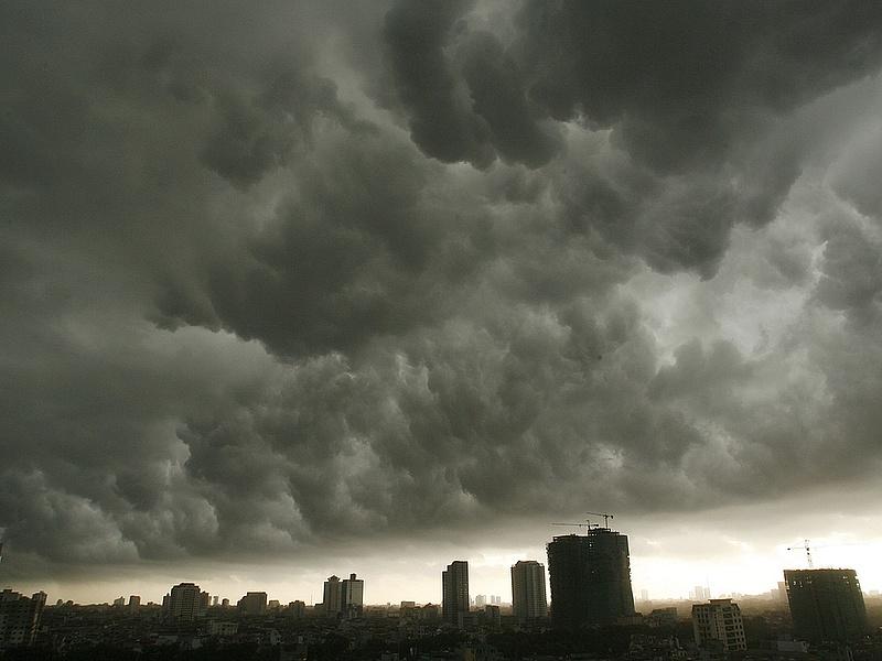 Citromsárga riasztás a viharos szél miatt