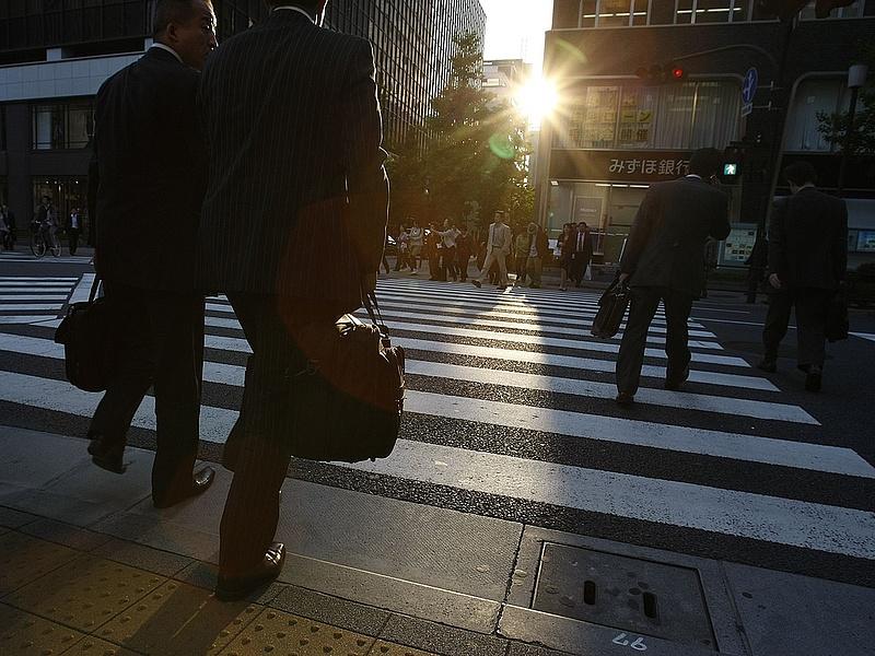 És eközben Japánban