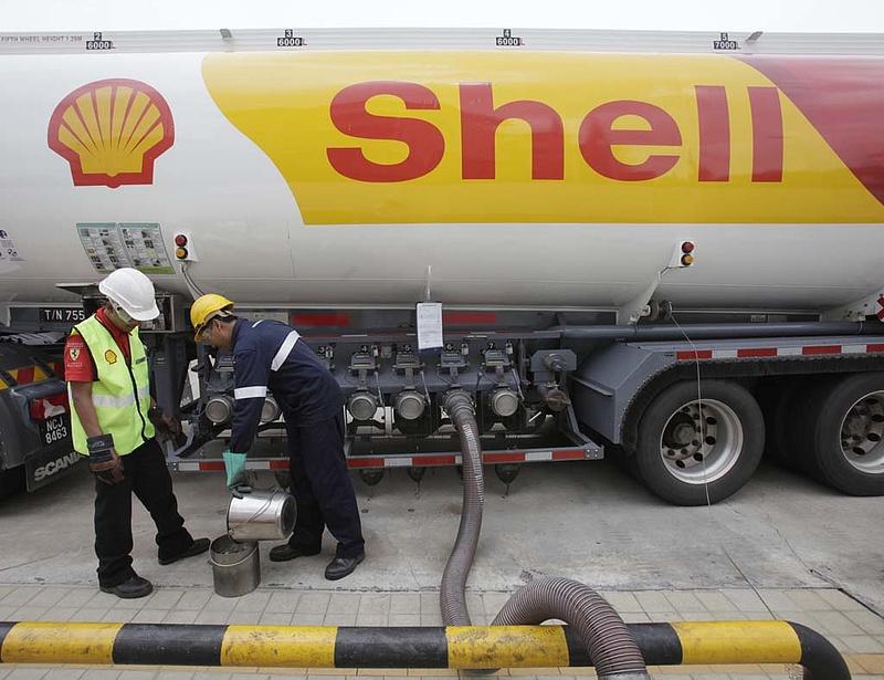Bírság a benzin miatt - reagál a Shell