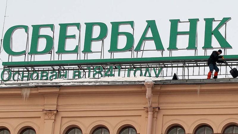 Két számjegyű emelkedés a Sberbanknál