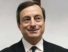 Bombát robbantott az ECB-vezér