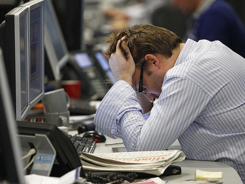 A piacok azt üzenik: baj van
