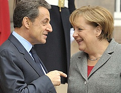 Széleskörű fiskális harmonizációt javasol Merkel és Sarkozy