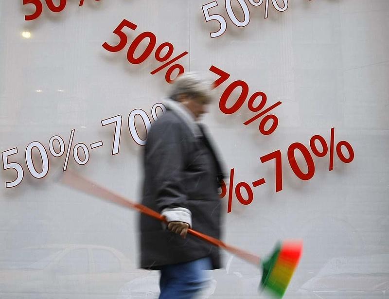 Februárban is mínuszos lehetett az infláció - Ez jöhet kedden