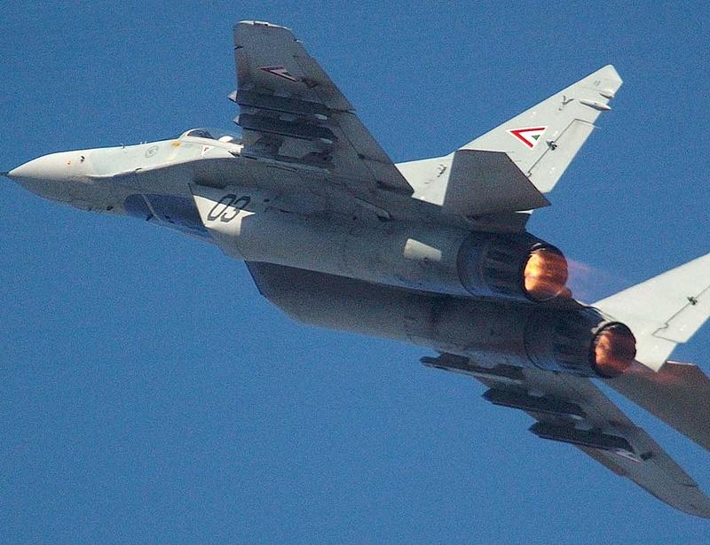 Menjen kirándulni orosz vadászrepülővel!