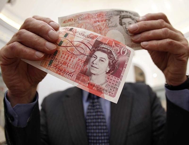 Háromévi mélyponton a brit infláció