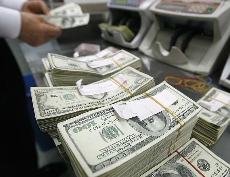 Zuhan a dollár mindenütt