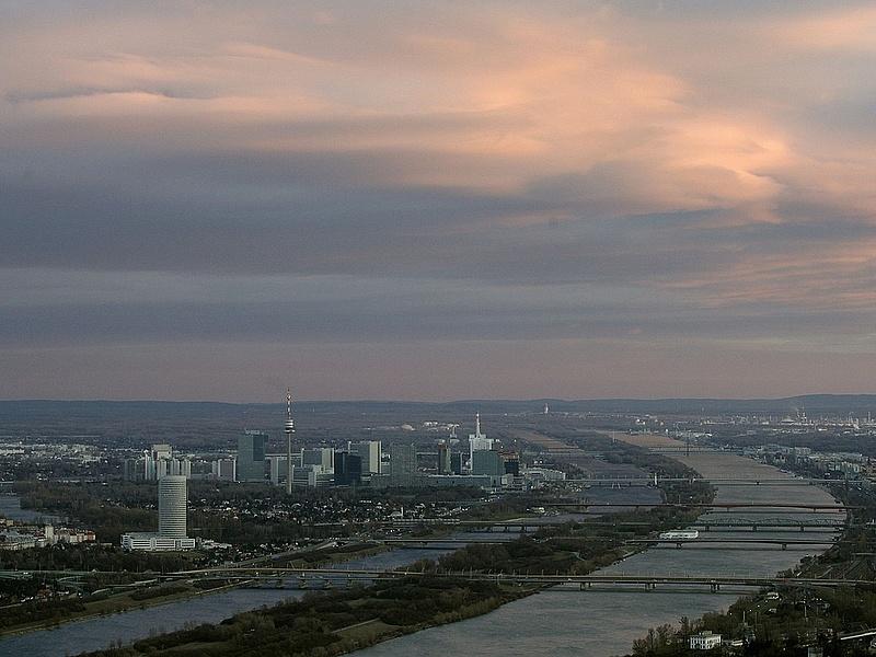 Bécsnél tetőzött a Duna