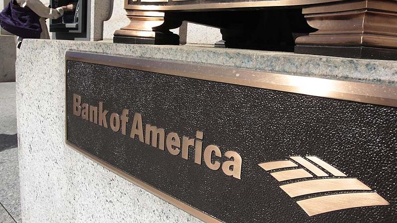 Jó évet zárt a Bank of America