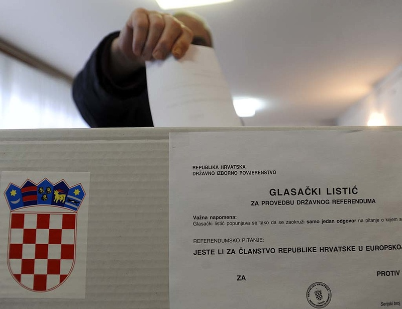 Ma elnököt választ Horvátország