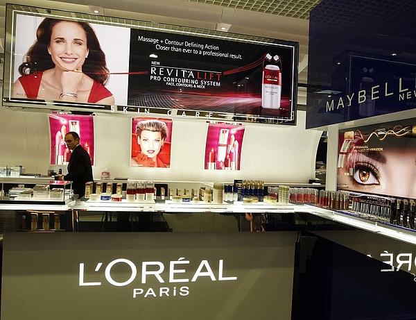 A vártnál nagyobb mértékben nőtt a L'Oreal bevétele