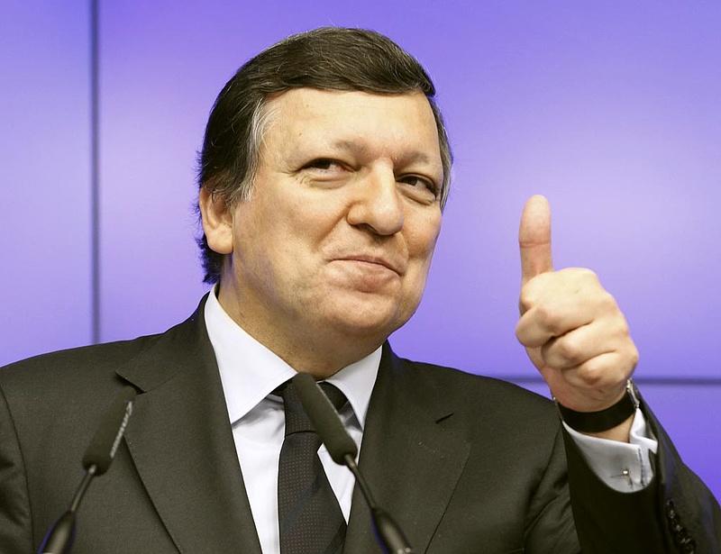 Barroso: nagyon valószínű, hogy kikerülhet a túlzottdeficit-eljárás alól Olaszország