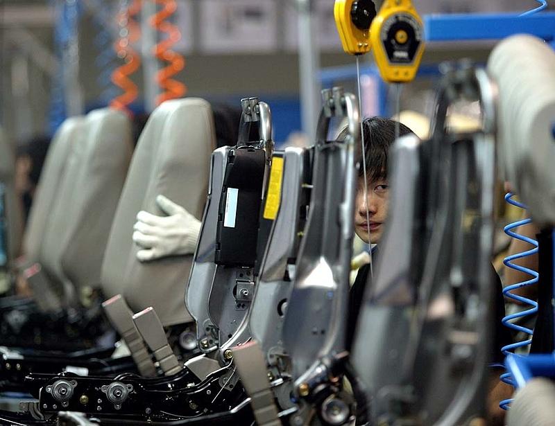 Lassulást jelez a kínai feldolgozóipari index