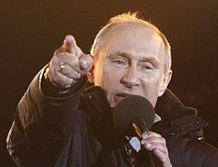 Veszélybe került Putyin kétharmada, átírják a választási törvényt