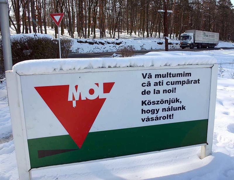 Nagyot lépett a Mol
