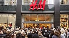 Esett a H&M árfolyama