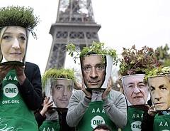 Sarkozy gratulált Franciaország új köztársasági elnökének