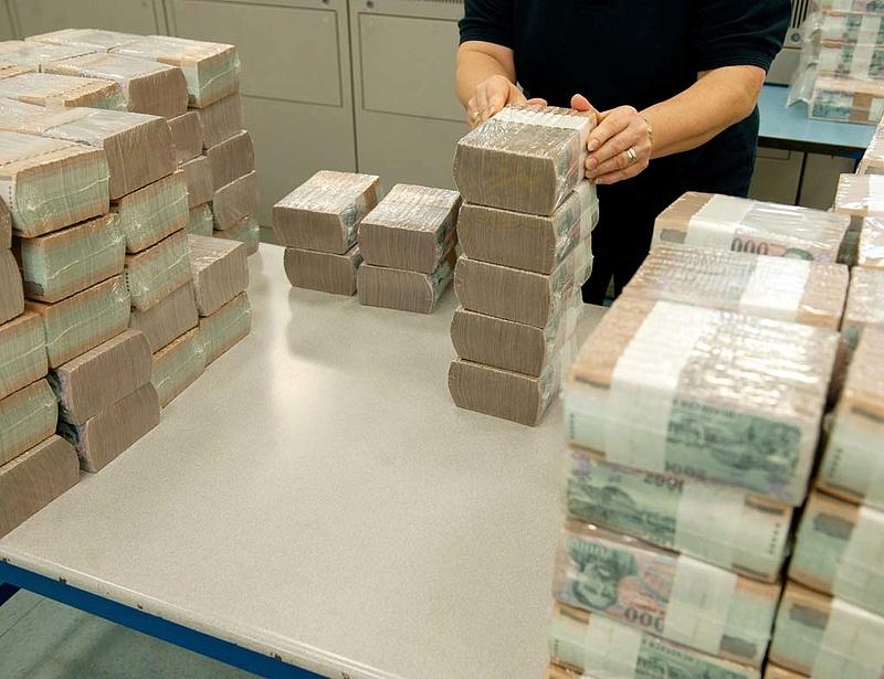 MNB: csökkent a bankrendszer likviditása
