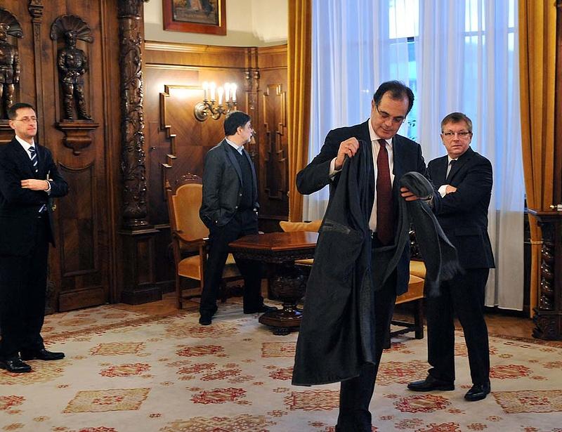 Újra összeült Orbán, Matolcsy és Simor