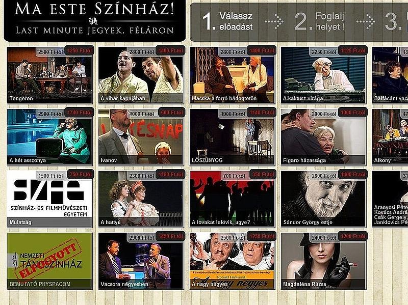 Így spórolhat a színházjegyen Budapesten