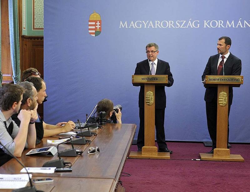 Matolcsy megszólalt: ez vár ránk 2013-ban