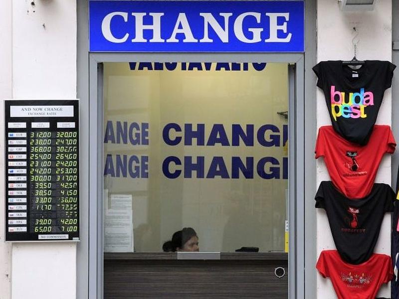 Gyengült a forint árfolyama reggelre