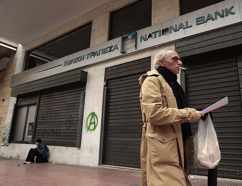 Csúcson a görög munkanélküliség
