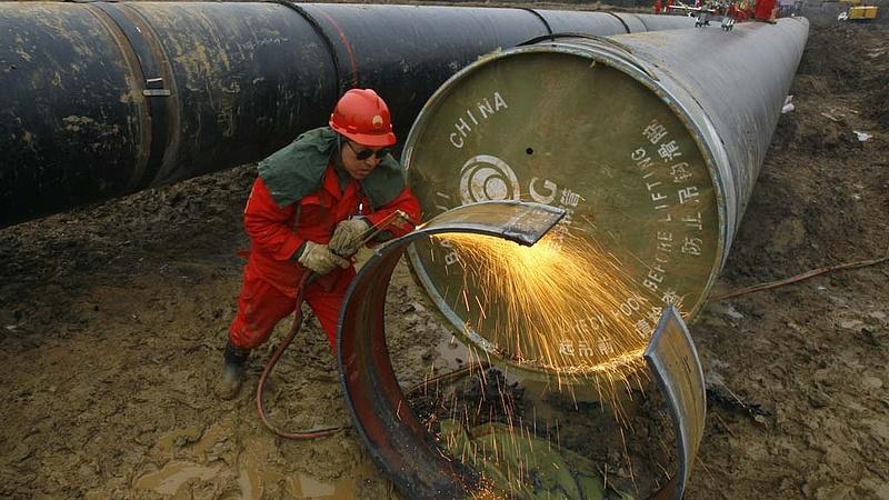 Fokozza az olaj- és földgáz-kitermelését Kína