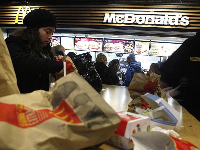 Súlyos vádak a McDonald\'s ellen