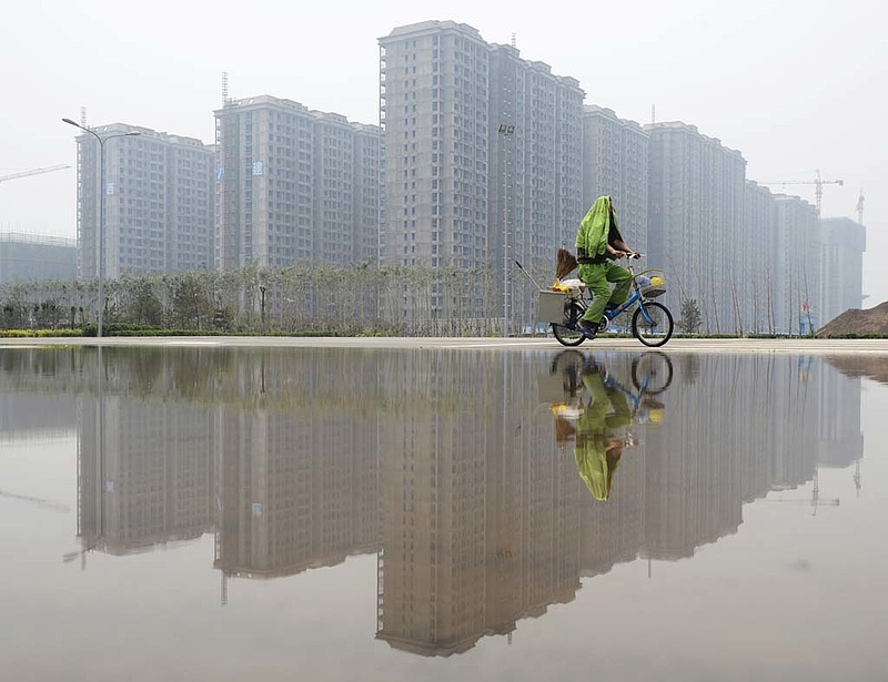 Kínában nőtt az újépítésű lakóingatlanok ára júliusban