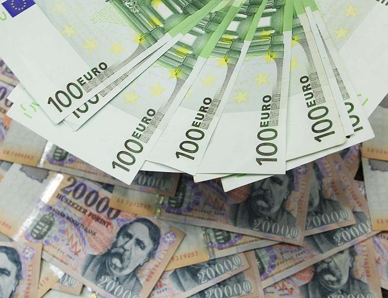 314 közelében euró