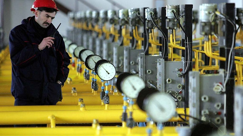 Drasztikusan csökkent az orosz gáz ára