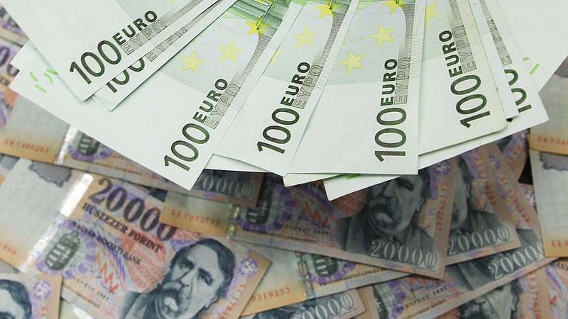 306 forint körül ingadozik az euró