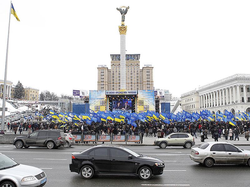 Gyújtogatás miatt éghetett a kijevi tévétorony kábelcsatornája