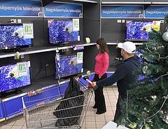 Megnőnek a tévék a magyar lakásokban