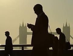 London egyre jobban lemarad