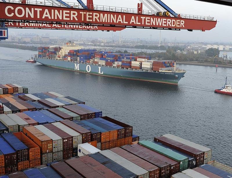 Nőtt a német export és az import áprilisban