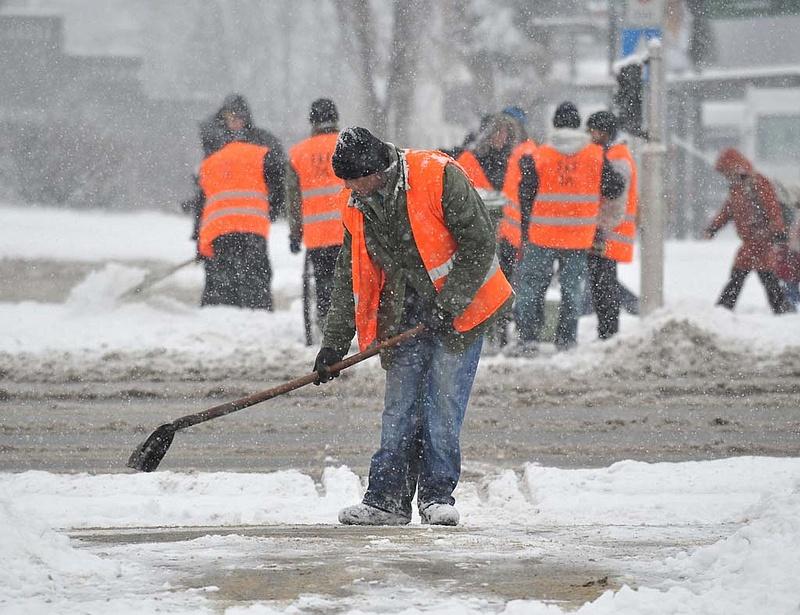 Megérkezett a hó Budapestre, mi lesz most?