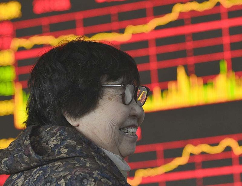 Meglepő pattanás a kínai tőzsdén