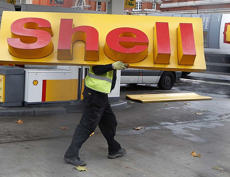 Megzuhant a Shell-profit